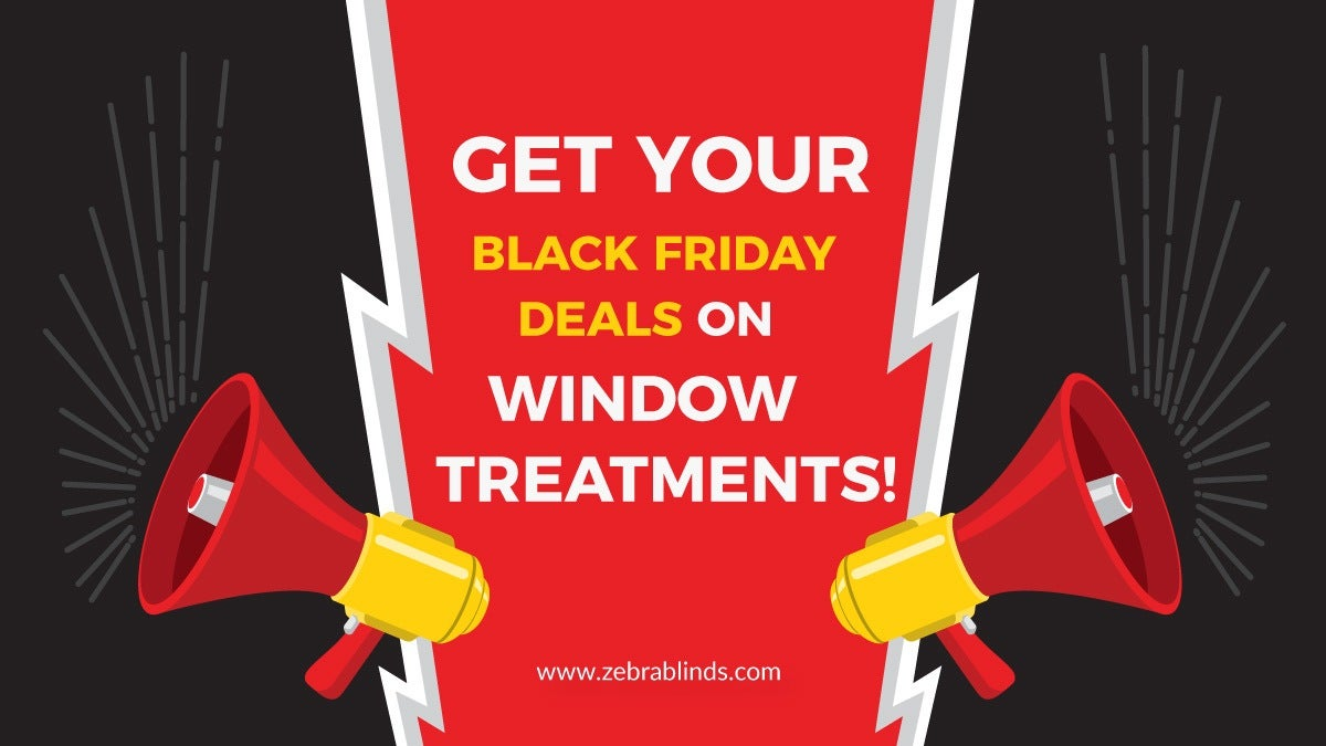 Black Friday Deals On Window Treatments
