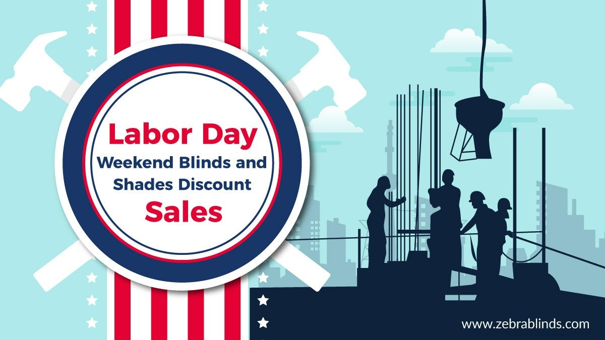 Labor Day Blinds and Shades Sale