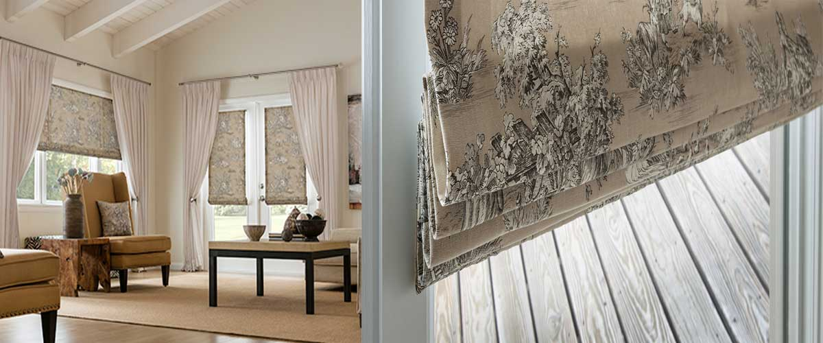 Roman-Blinds-Styles - ZebraBlinds.com