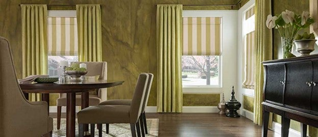 mix and match blinds and shades