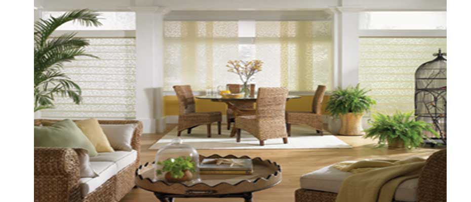 Motorized Roman Shades For Carriage Housing