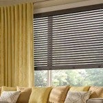 WOOD BLINDS FOR A ROOM WITH A VIEW