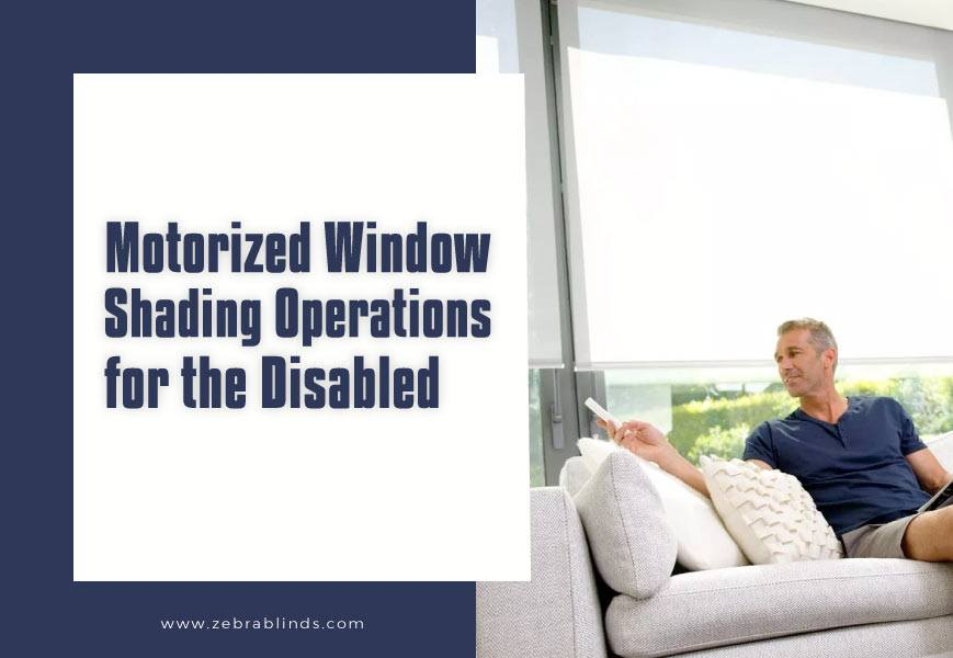 Motorized Window Shadings