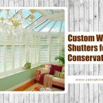 Custom Window Shutters for Conservatories