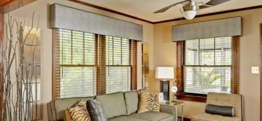 Valances with Blinds And Shades