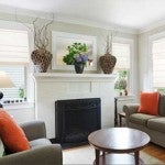 The Norman Centerpiece Cordless Roman Shades