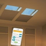Easy to use and comfortable skylights shades and blinds