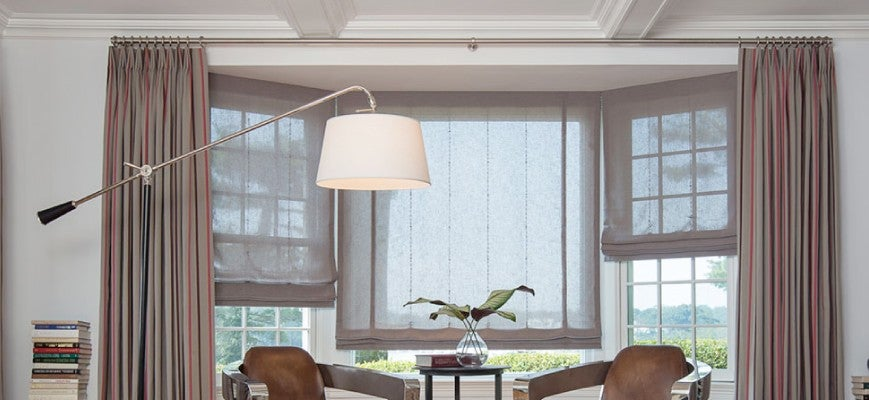 Bay Window Treatments Curtains Blinds Or Shades