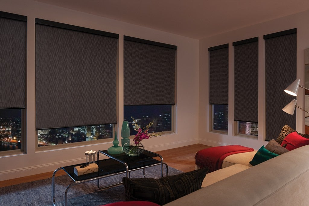 Roller shades privacy