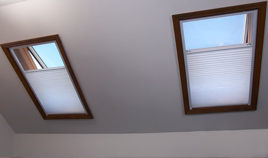 Blinds For Skylights With Remote Control Amp Solar Charging
