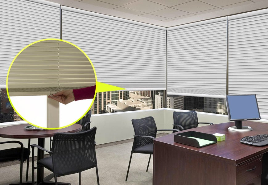 Cordless-Blinds-For-Office-Rooms - Zebrablinds.com