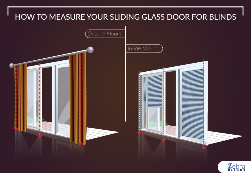 How-to-Measure-Your-Sliding-Glass-Door-for-Blinds. Zebrablinds.com