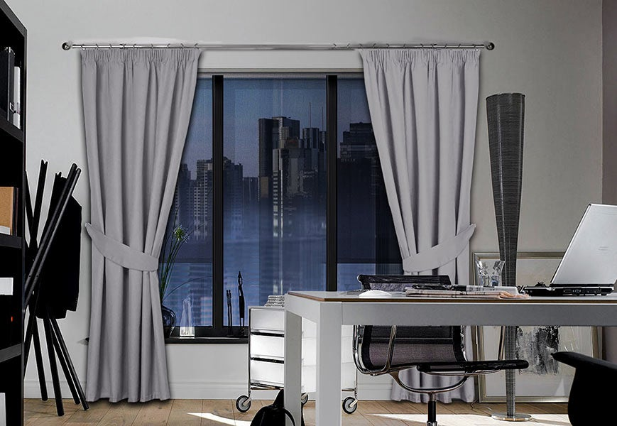 Office-Space-Drapery-Curtains - Zebrablinds.com