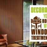 Decorate Your Dining Room with Window Treatments