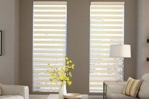 Horizontal-Flat-Sheer-Shades - Zebrablinds.com