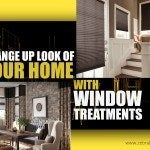 Change Up Look of Your Home with Window Treatments