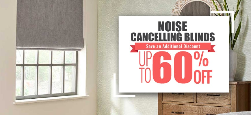Noise Cancelling Blinds