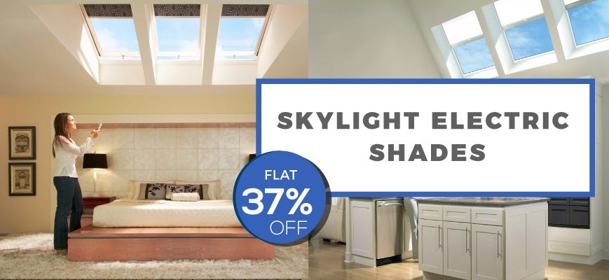 Skylight Electric Blinds