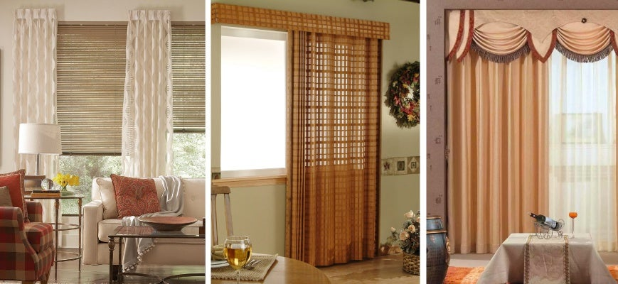 Window Treatments That Combine Blinds and Drapes