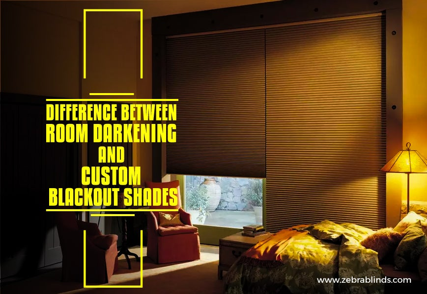 Custom Blackout Shades And Room Darkening Shades Zebrablinds