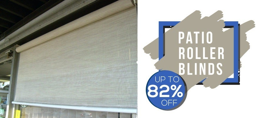 Patio Roller Blinds