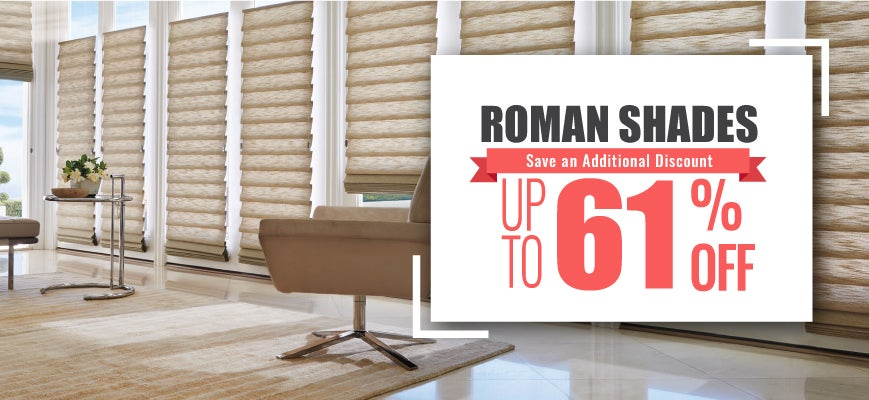 Types of Roman Blinds and Shades