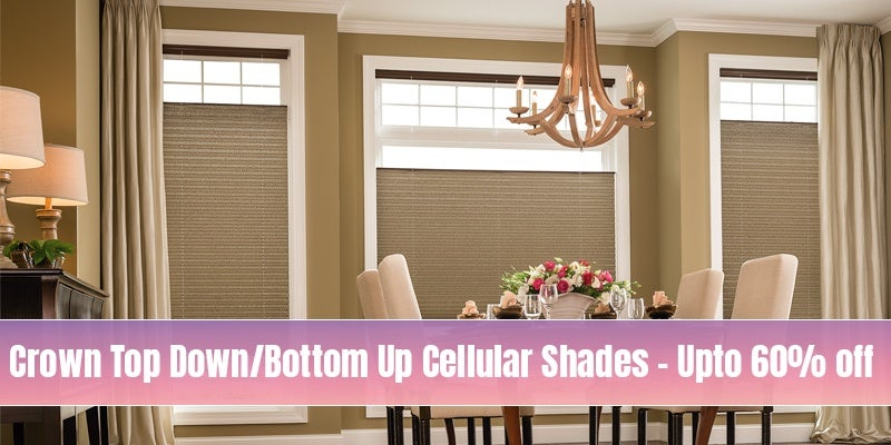 Top Down Bottom up Blinds and Shades