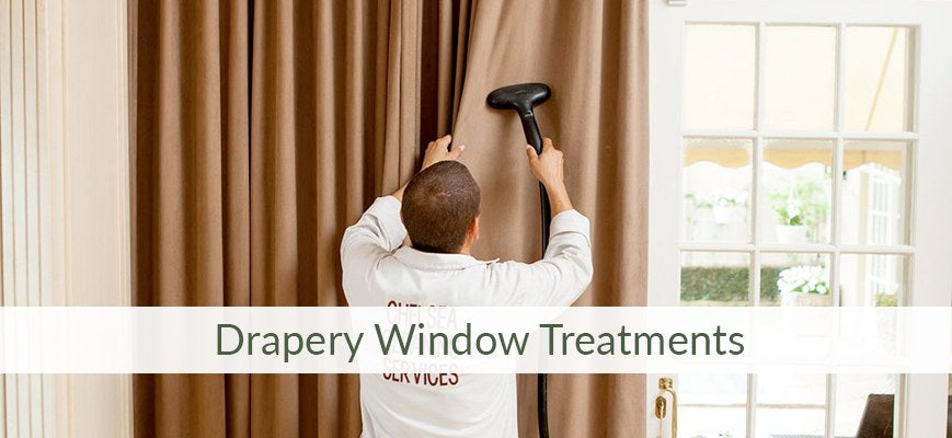 Spring Cleaning Ideas for Drapery Window Treatments