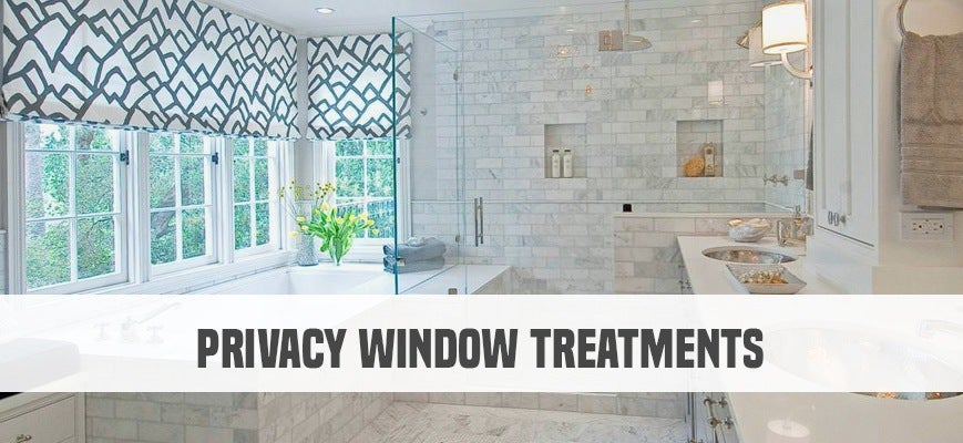 Privacy Window Treatments