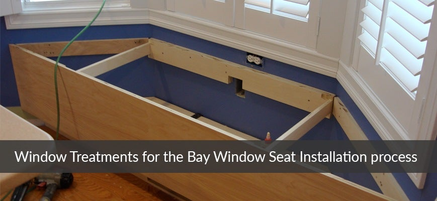 Window Treatments for Bay Windows Installation
