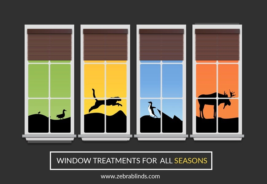 Seasonal Window Treatments