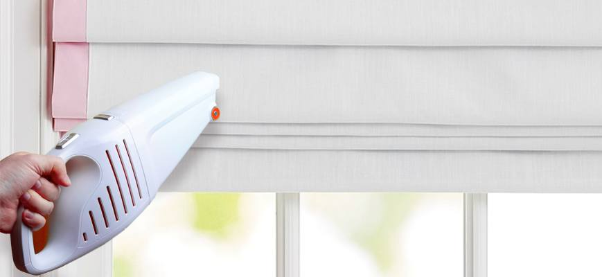 Spring Cleaning Ideas forRoman Shades