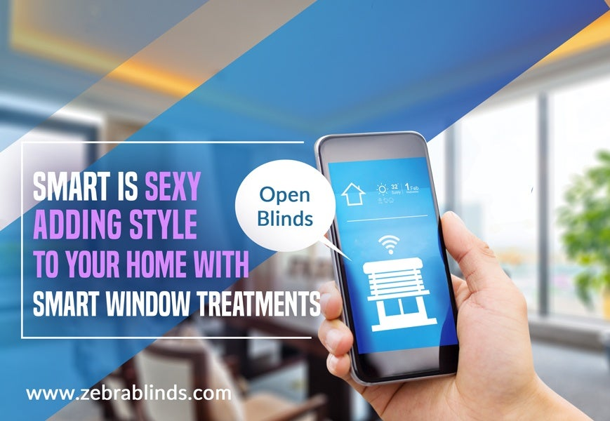 Smart Home Window Blinds