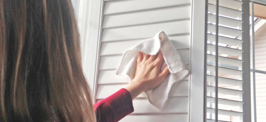 Spring Cleaning Ideas for Window Shutters