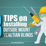 How to Install Blinds on Outside Mount