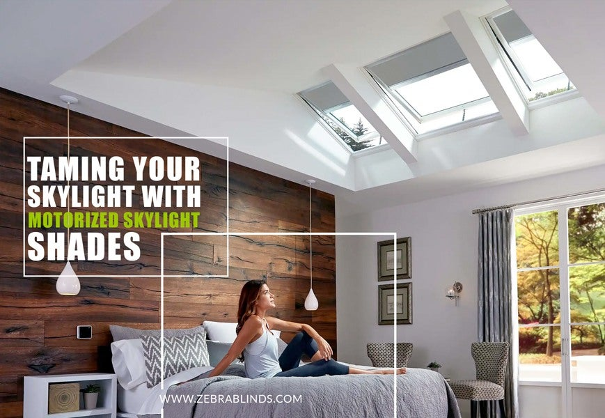Taming Your Skylight With Remote Control Blinds