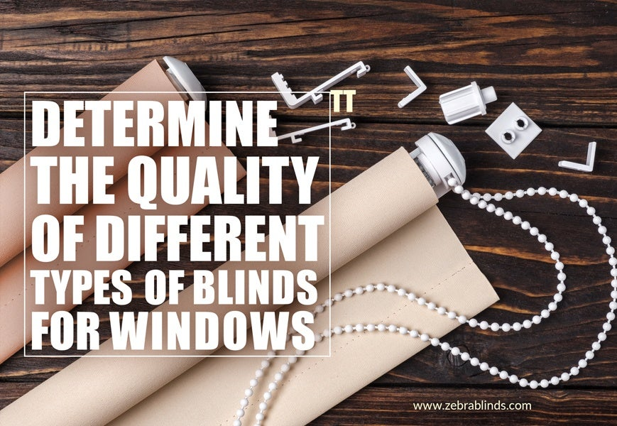 Types of Blinds for Windows