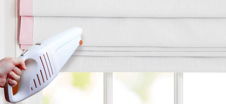 How to Clean Roman Shades