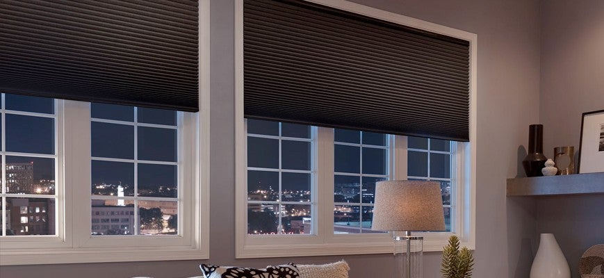 Noise Reducing Cellular Shades