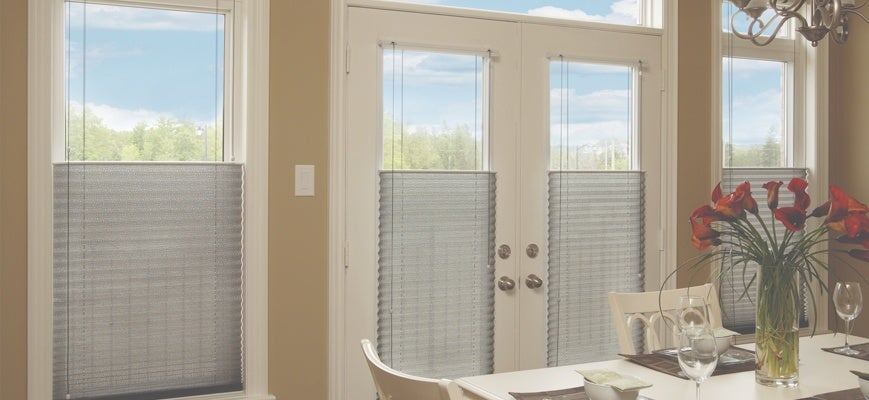 Pull Down Honeycomb Blinds