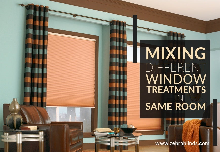 Mixing Window Treatments In One Room