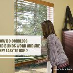 How Do Cordless Faux Wood Blinds Work and Are They Easy to Use?
