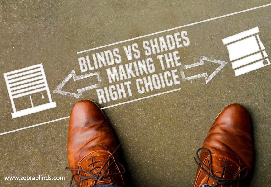 Difference Between Blinds and Shades