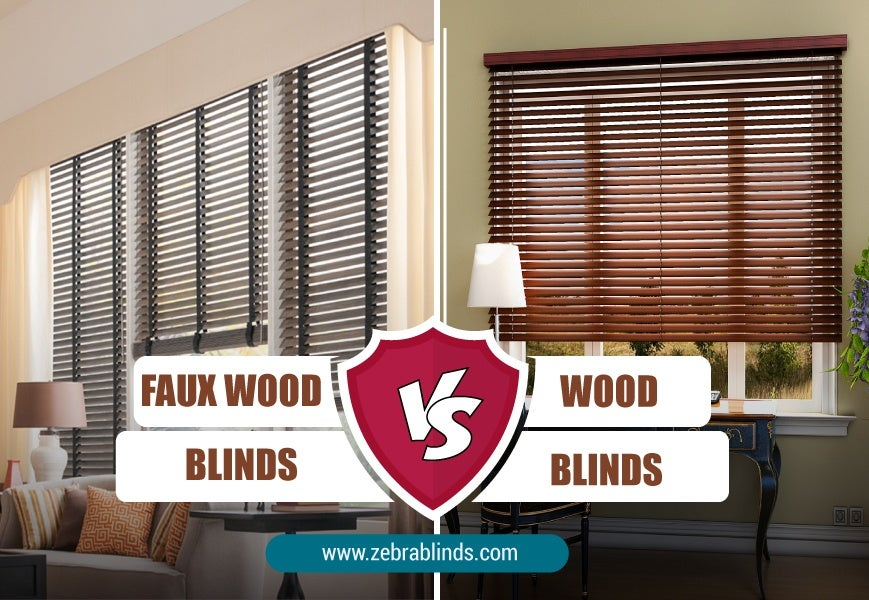 Difference Between Wood And Faux Wood Blinds The Ultimate