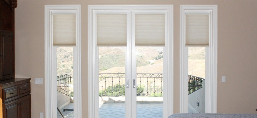 Cellular Shades for Patio Doors