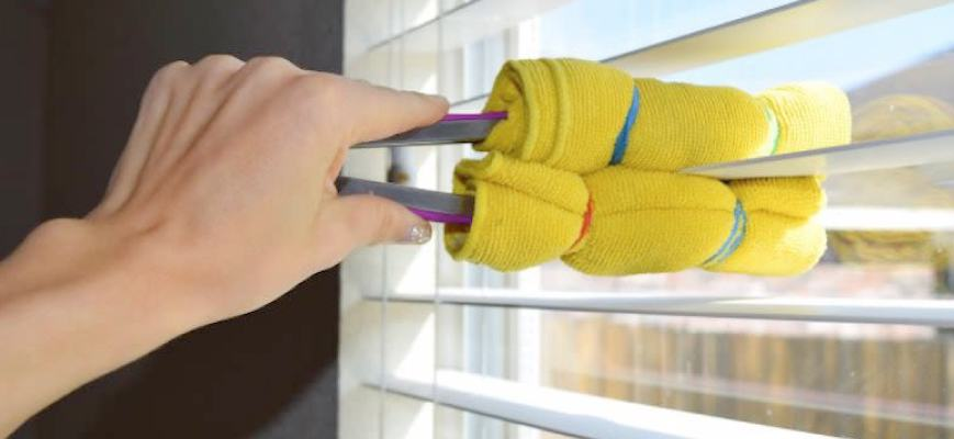 Cleaning Cordless Blinds