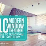 10 Modern Window Treatment Ideas to Transform Your Living Room