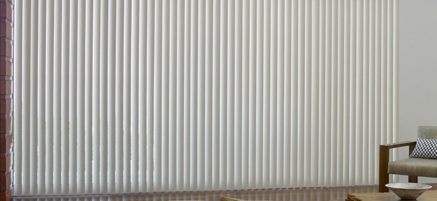 Cordless Vertical Blinds for Large Windows