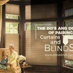 Ideas to Decorate Your Home with Curtains and Blinds Together