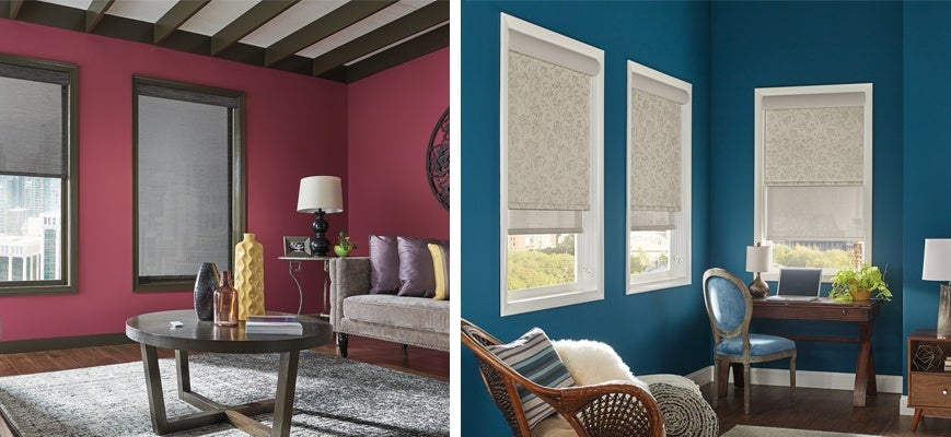 Best Ways to Block Heat From Windows - Roller and Roman Shades
